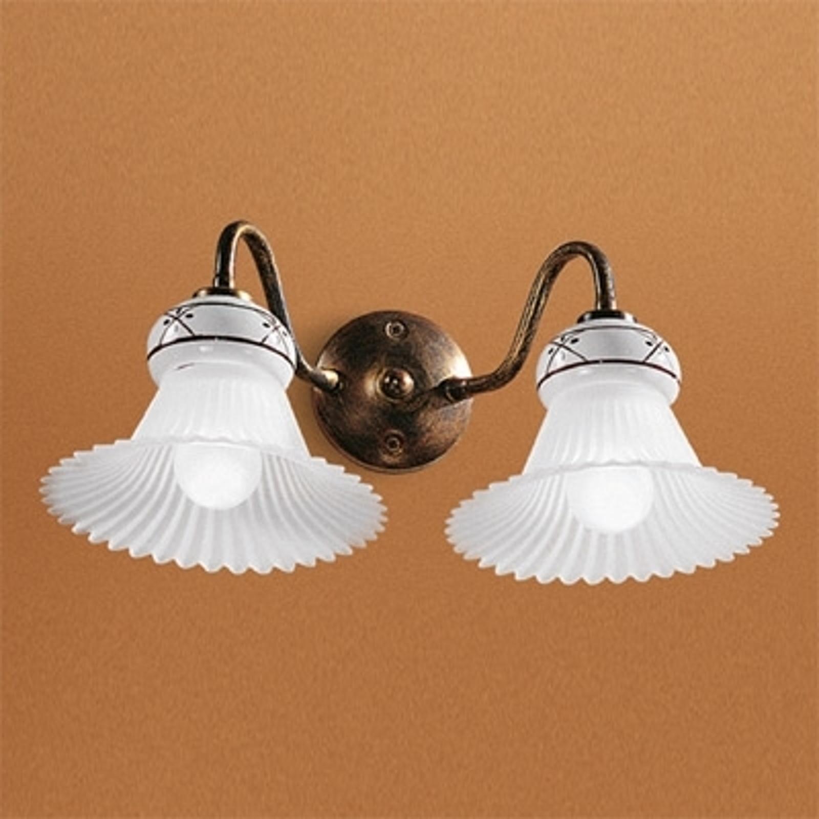2-lichts Mami wandlamp