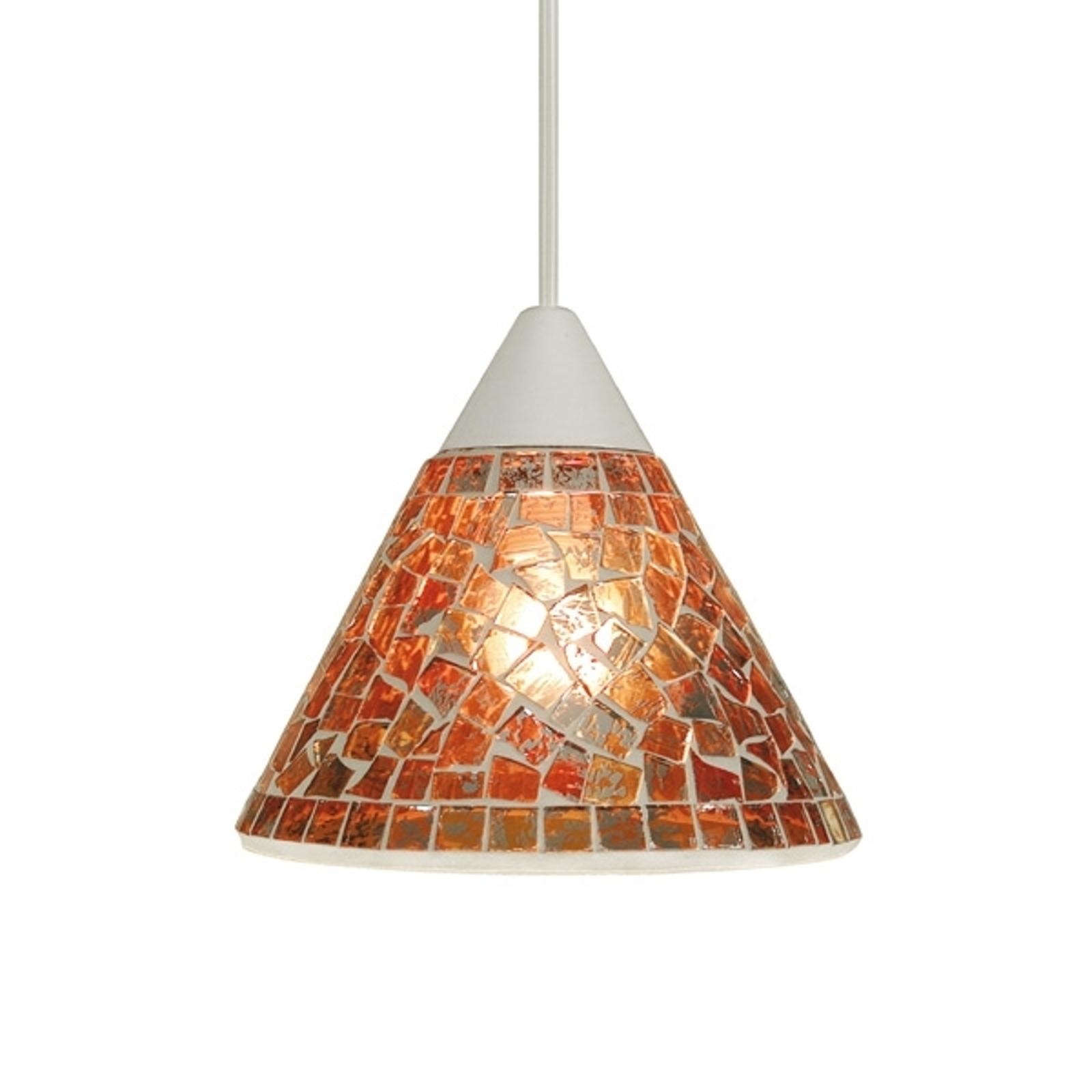 Lampa wisząca Jana w orientalnym stylu Ø 19 cm