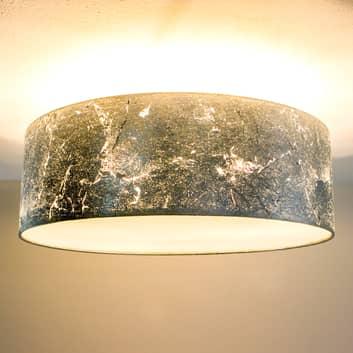 Stropní svítidlo Aura, nárazuvzdorný kov stříbrný