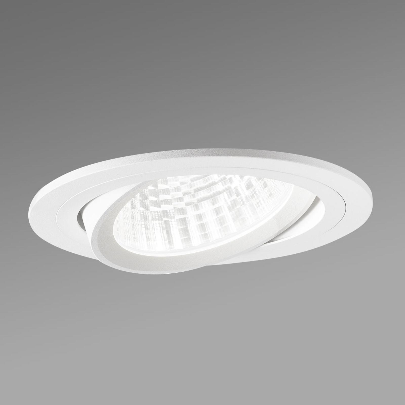 Reflektor wpuszczany LED Varo, 2 x 20° wychylany