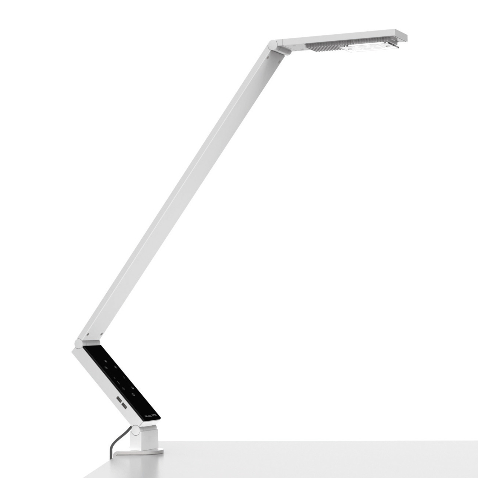 Luctra TableProLinear lampe à poser pince blanche
