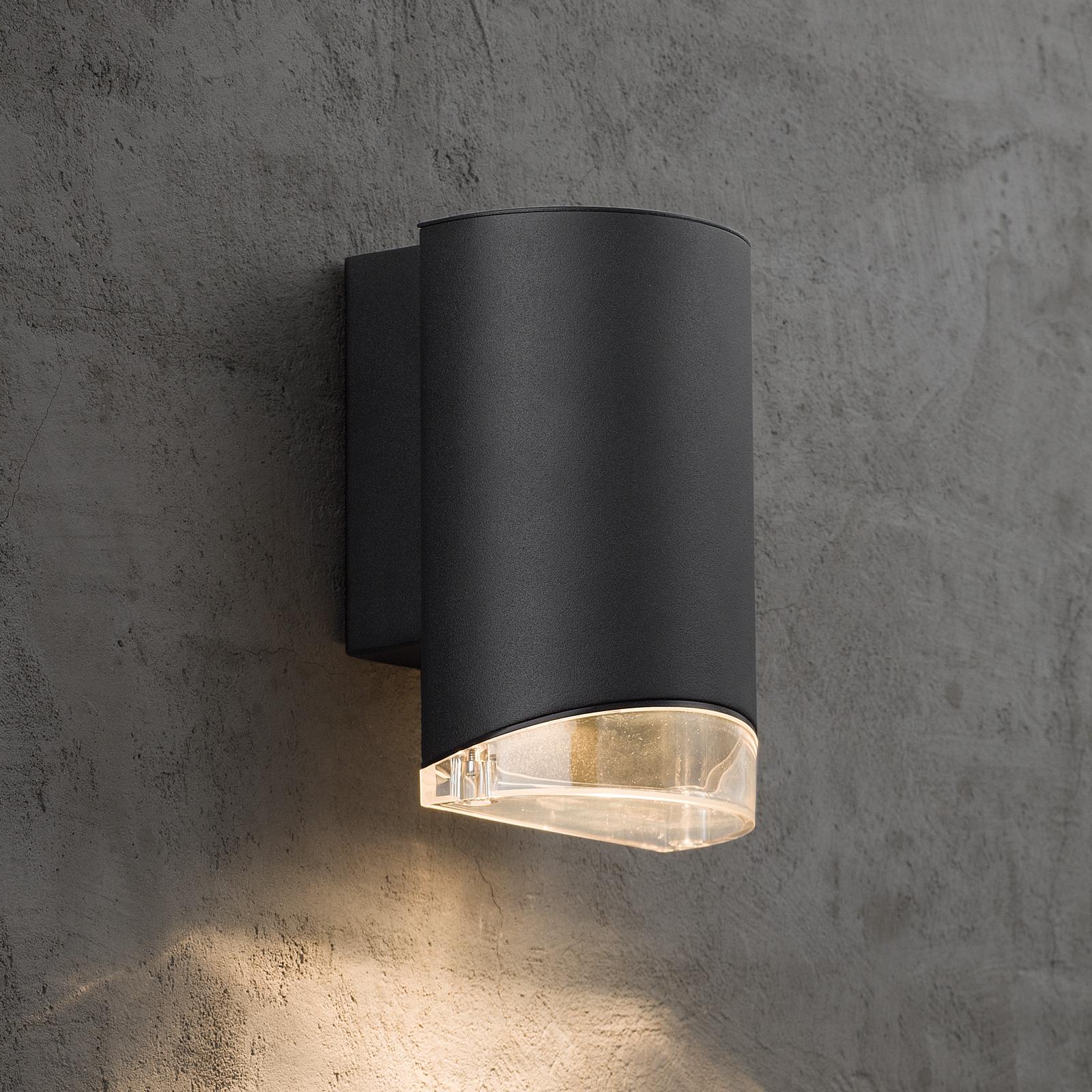 Buitenwandlamp Arn 1-lamp, zwart