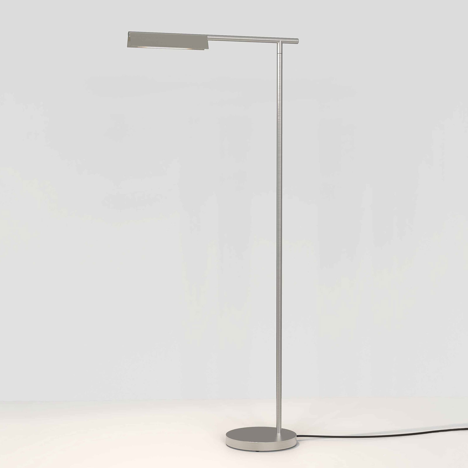 Astro Fold lampadaire LED nickel mat