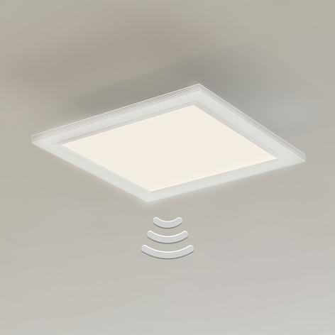 Plafonnier LED 7187-016 avec capteur, 29,5x29,5cm