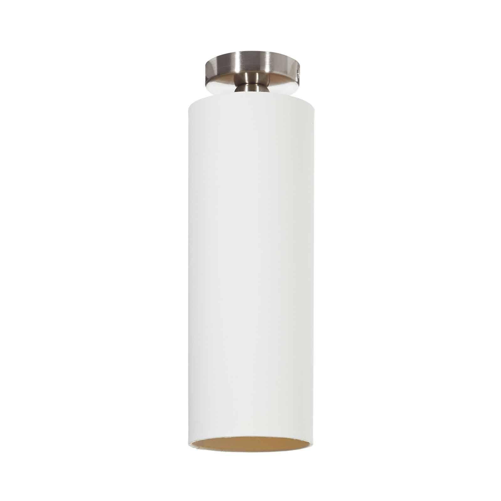 Lucande Patrik textiel-plafondlamp Ø15cm crème
