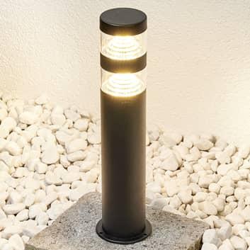 Sokkellamp Lanea met LED's - warmwit