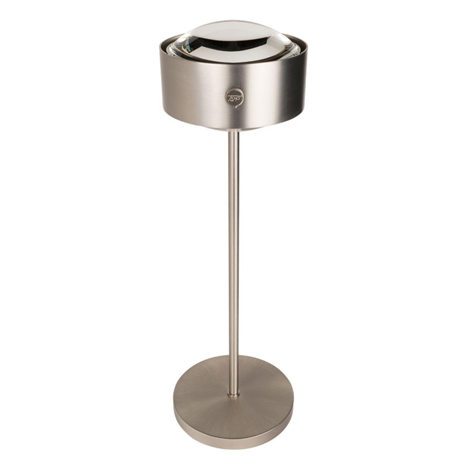 LED-Tischlampe Puk Meg Maxx Eye Table, Metalllook