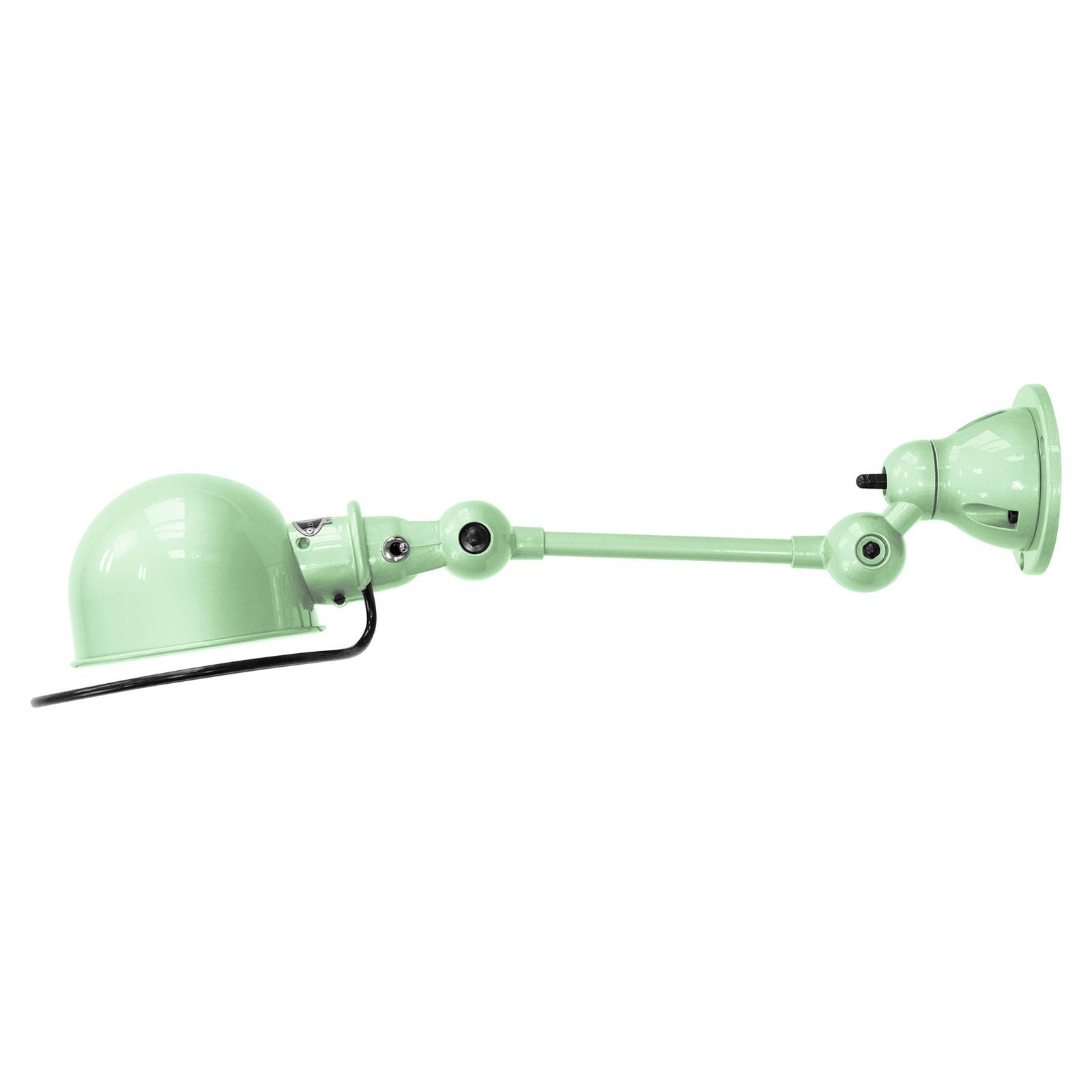 Jieldé Loft D2501 - säädettävä seinälamppu, vihreä