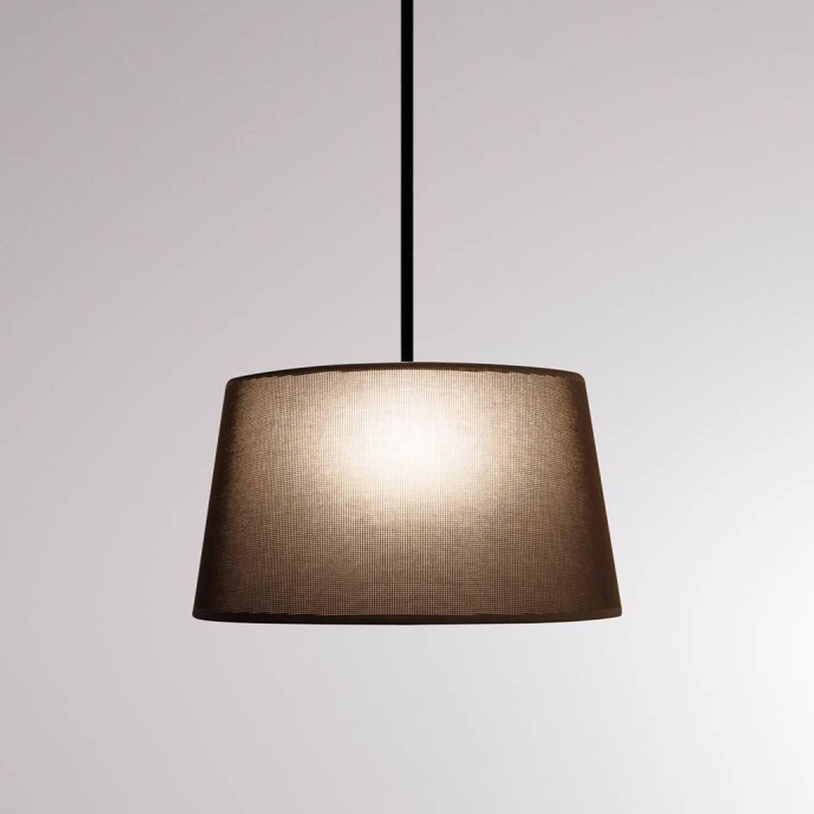 LOUM Bivio hanglamp Ø 50 cm kap bruin