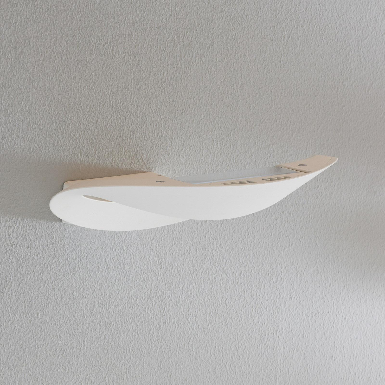 Witte LED design wandlamp Mesmeri