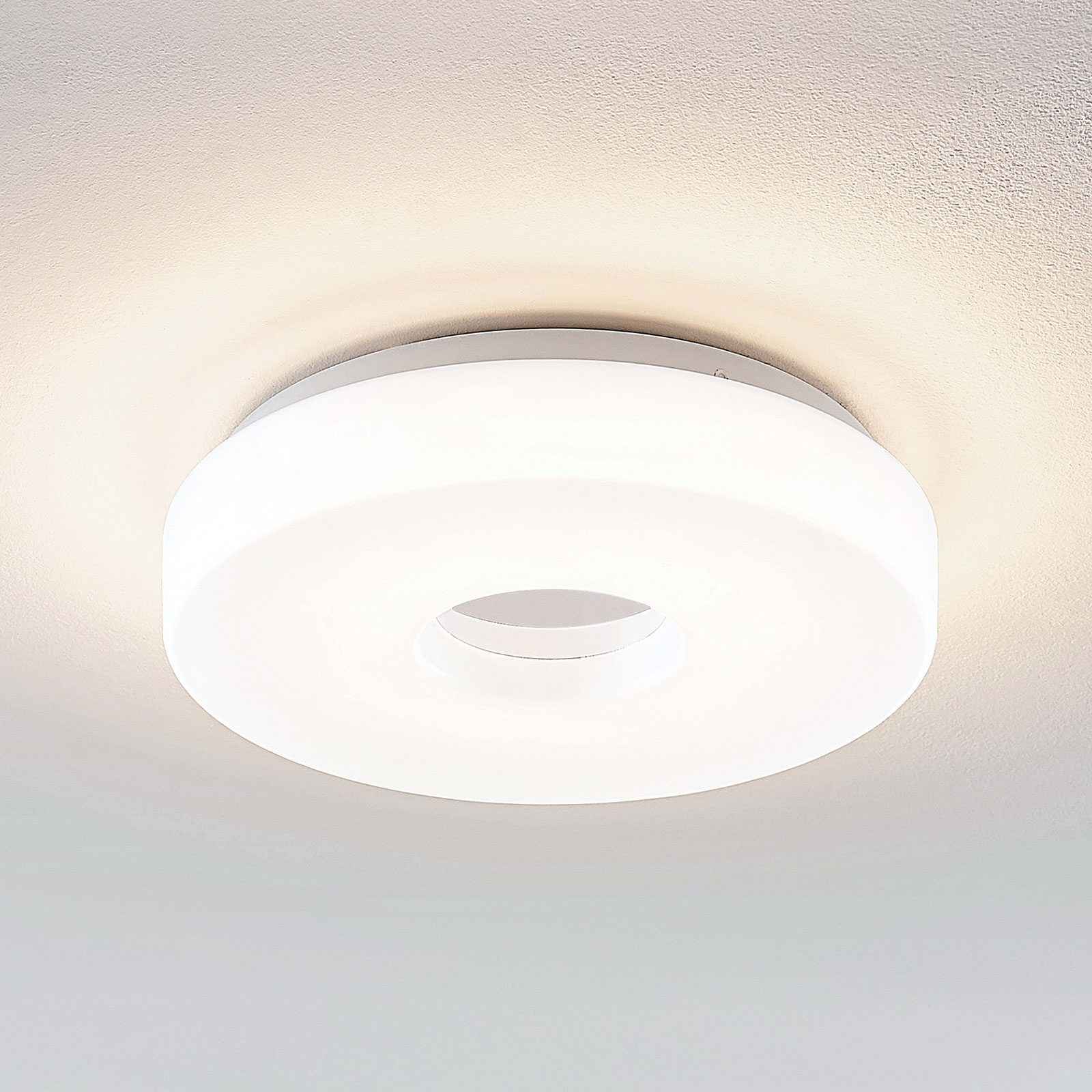 Lindby Florentina lampa sufitowa LED, 29,7 cm