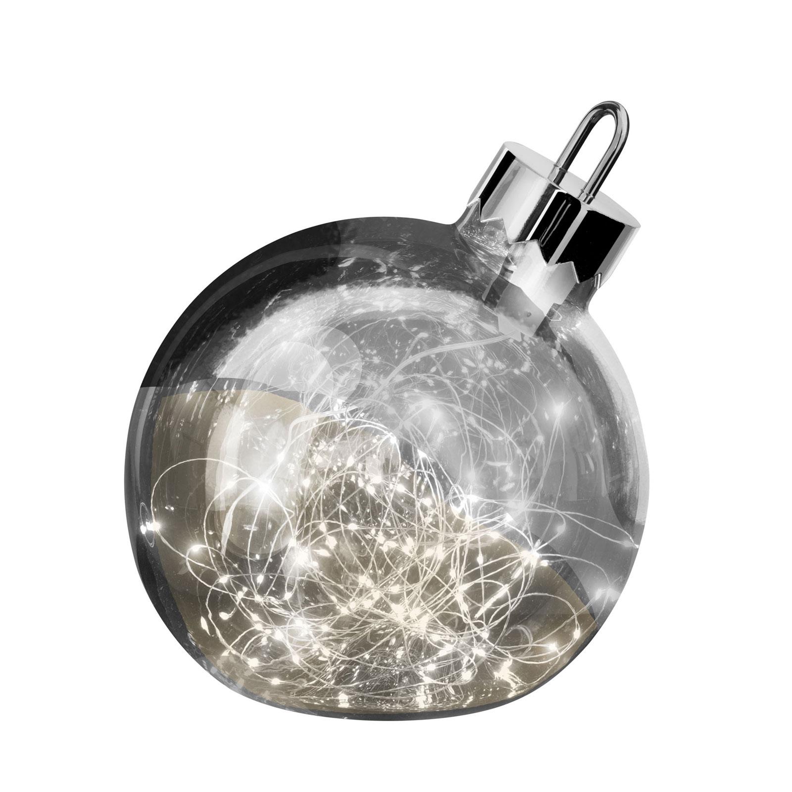 Lampada ornamentale, grigio scuro, Ø 25 cm