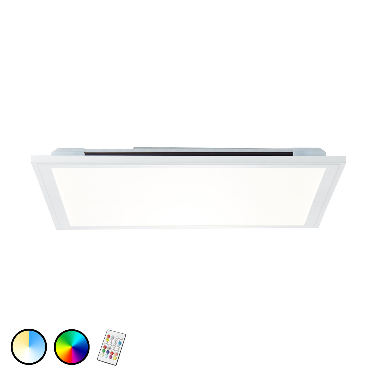 Lampa sufitowa LED Allie, 59,5x59,5 cm