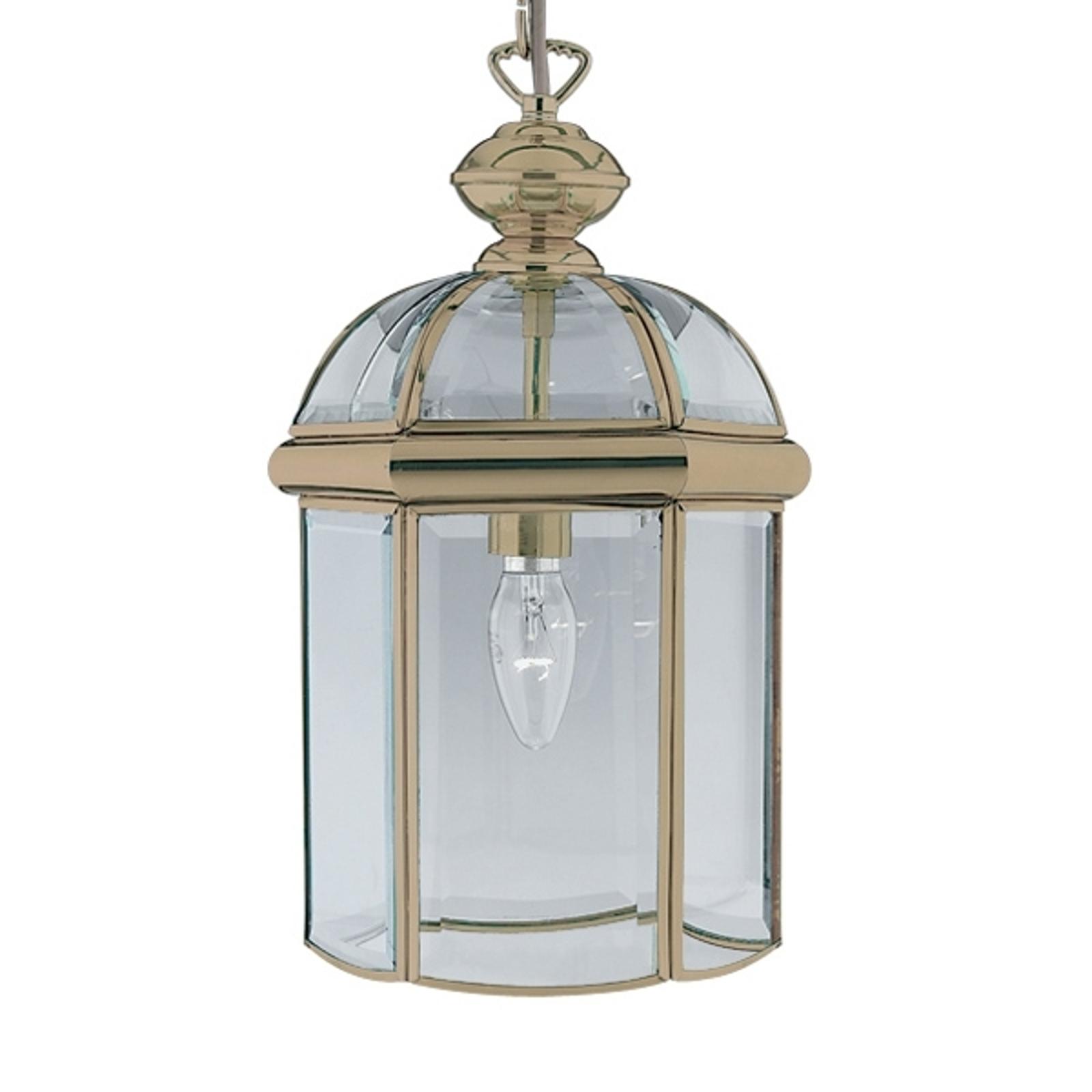 Piękna lampa wisząca ARLIND, stary mosiądz