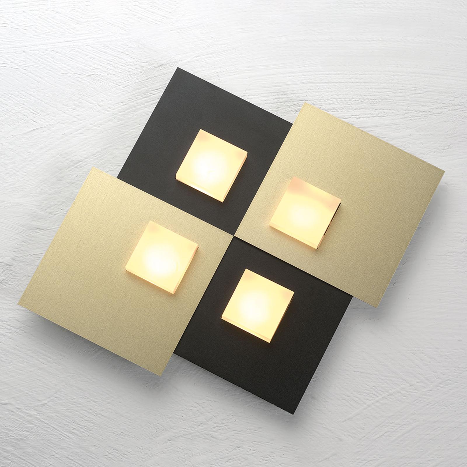 Bopp Pixel 2.0 plafonnier LED 4 lampe noir