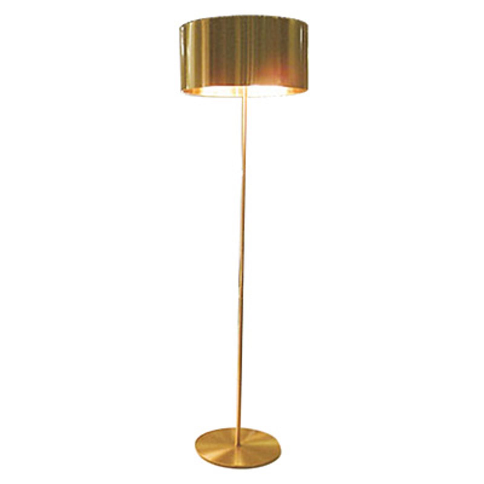 Oluce Switch - lampadaire de designer doré