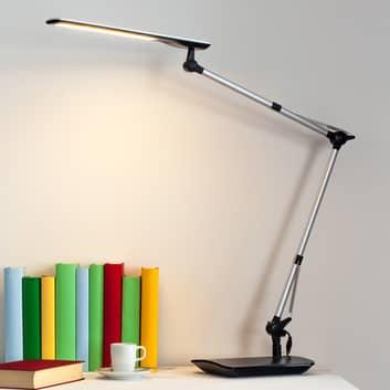 Felipe - lampa biurkowa LED z podstawą zaciskową