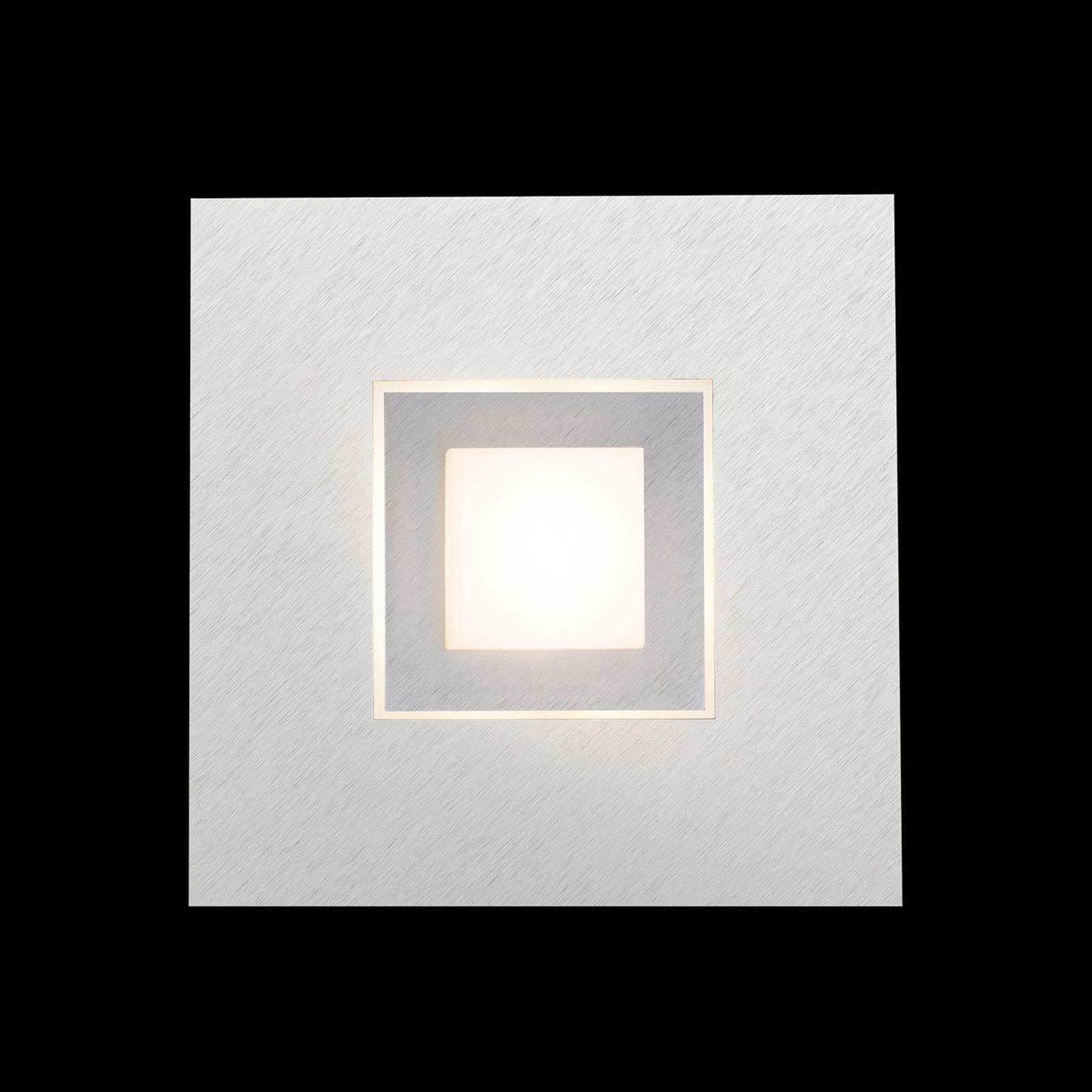 GROSSMANN Carré applique LED, titane