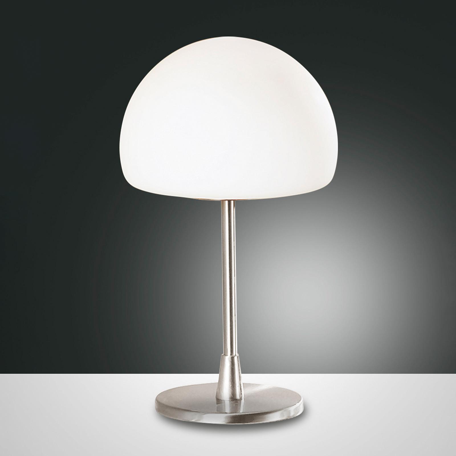LED Tischleuchte Gaia mit Touchdimmer, chrom