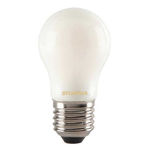 LED druppellamp E27 ToLEDo RT Ball 4,5W 827 satijn