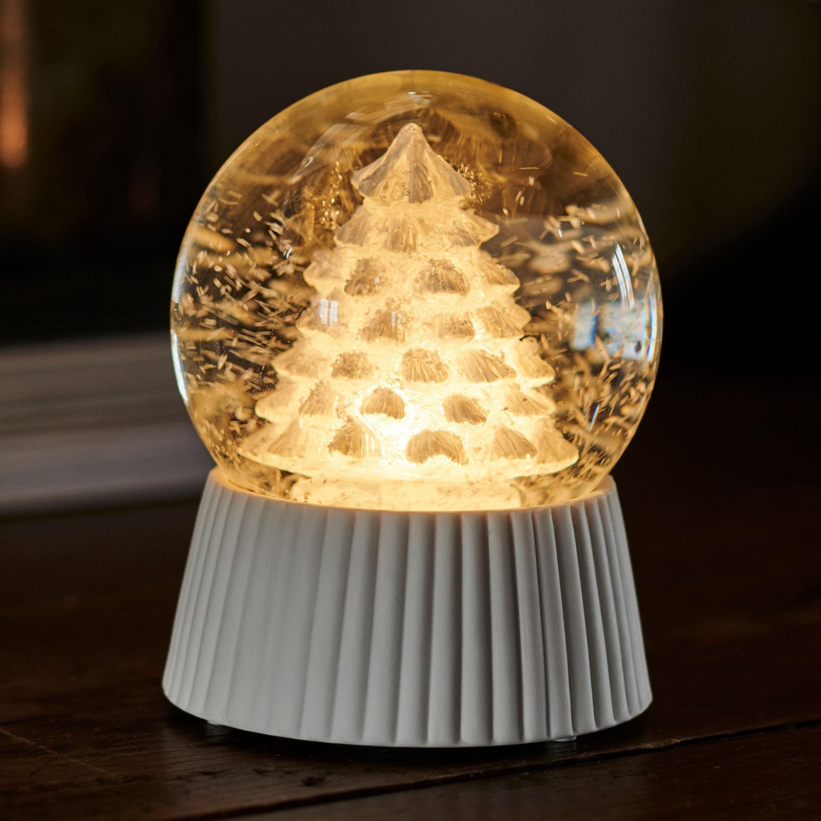 LED sneeuwbol Cilja met sneeuwvaleffect