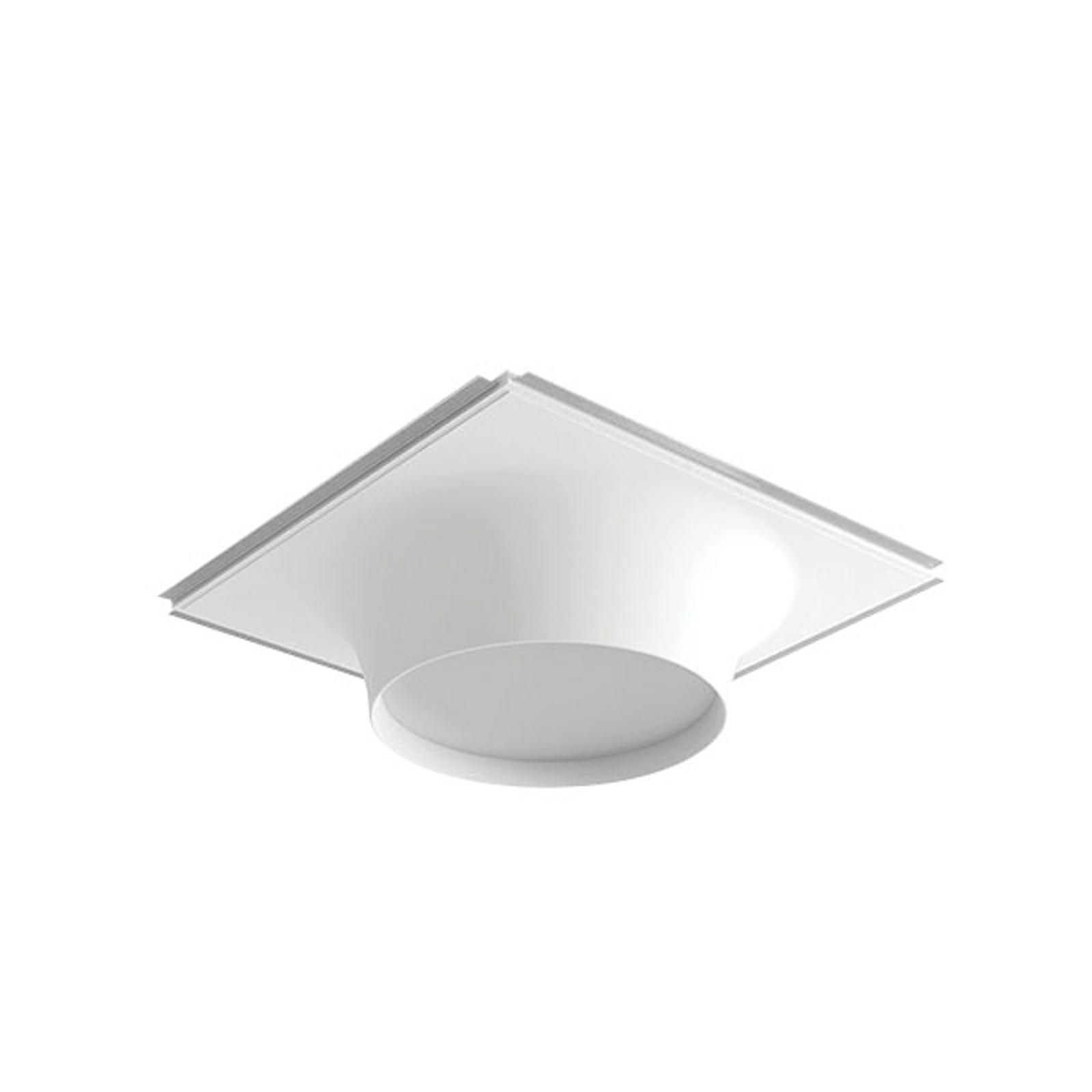 LED-plafond inbouwlamp 8935B, 2.700K, 68x68cm