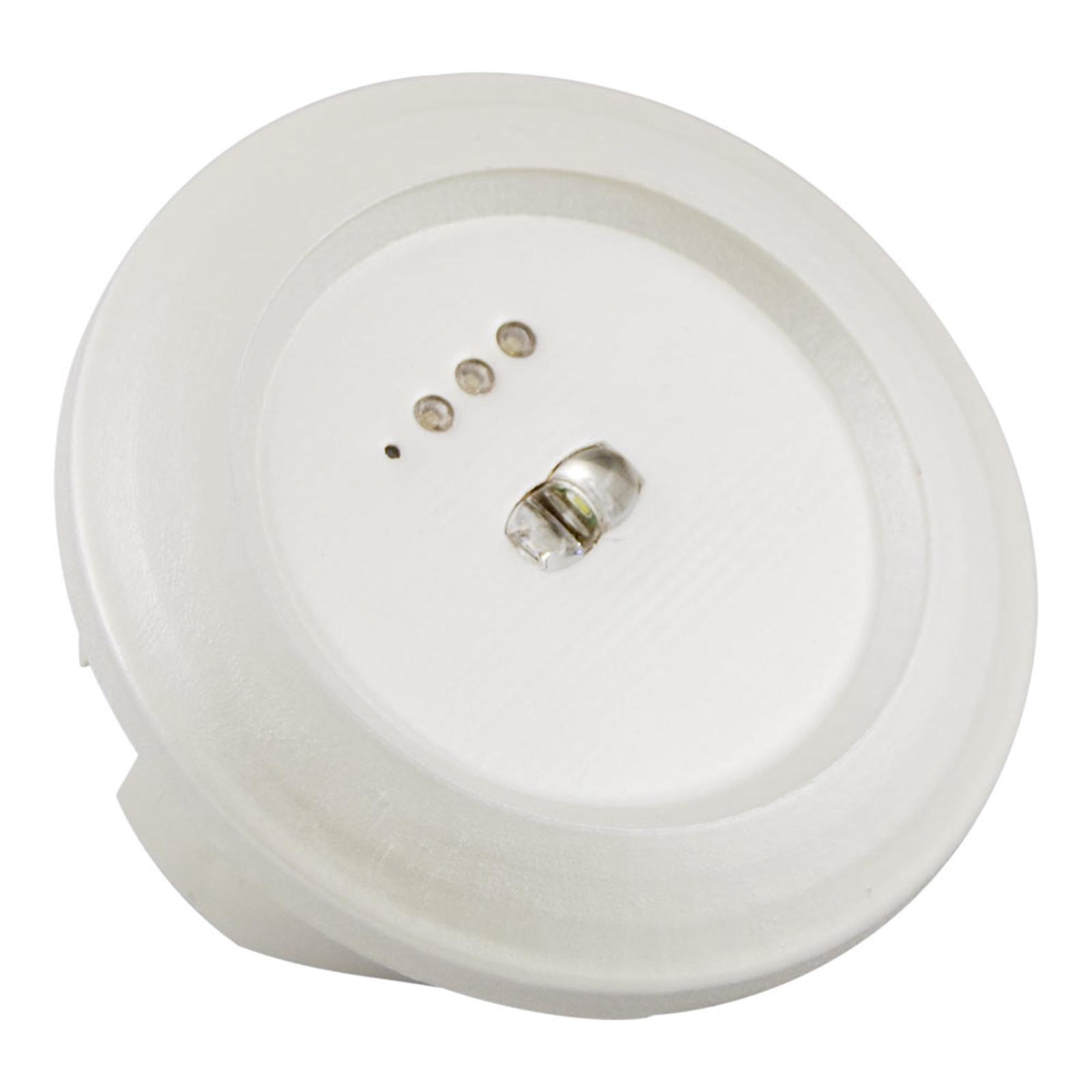 Round LED emergency light Spot Light escape route_3002234_1