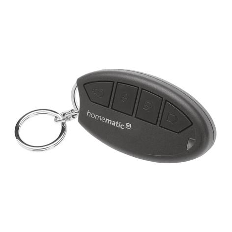 Homematic IP control remoto de llavero para alarma