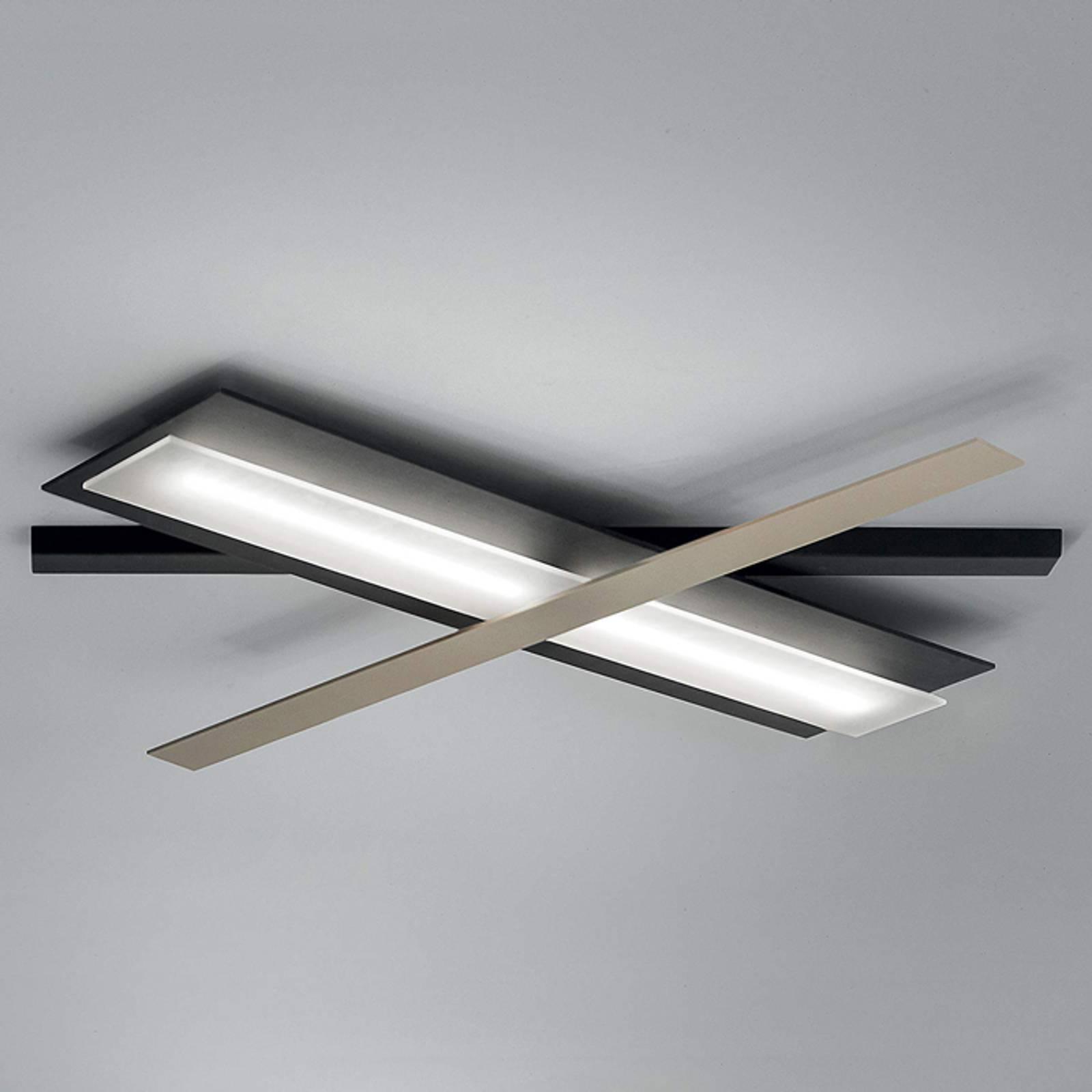 Flexibel instelbare LED plafondlamp Eclips_S