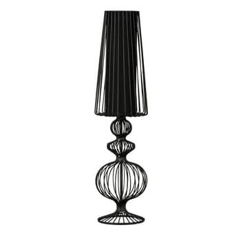 Tafellamp Aveiro L van zwarte metalen stutten