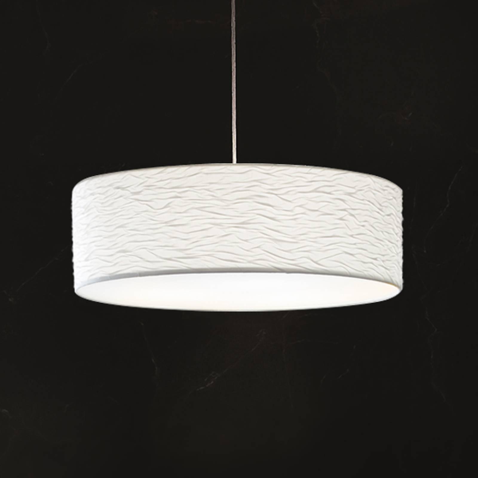 Holtkötter Vita P - witte hanglamp, 60 cm