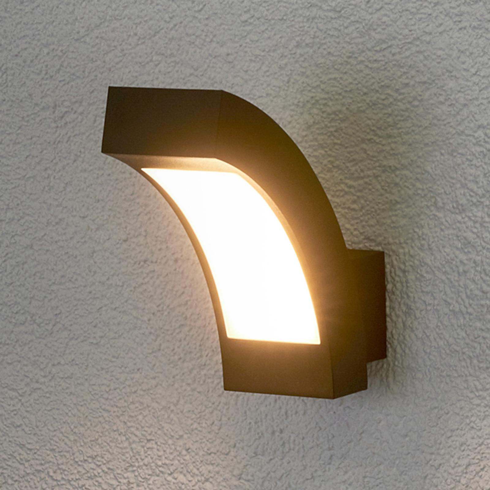 Aplique LED para exterior Lennik, IP54