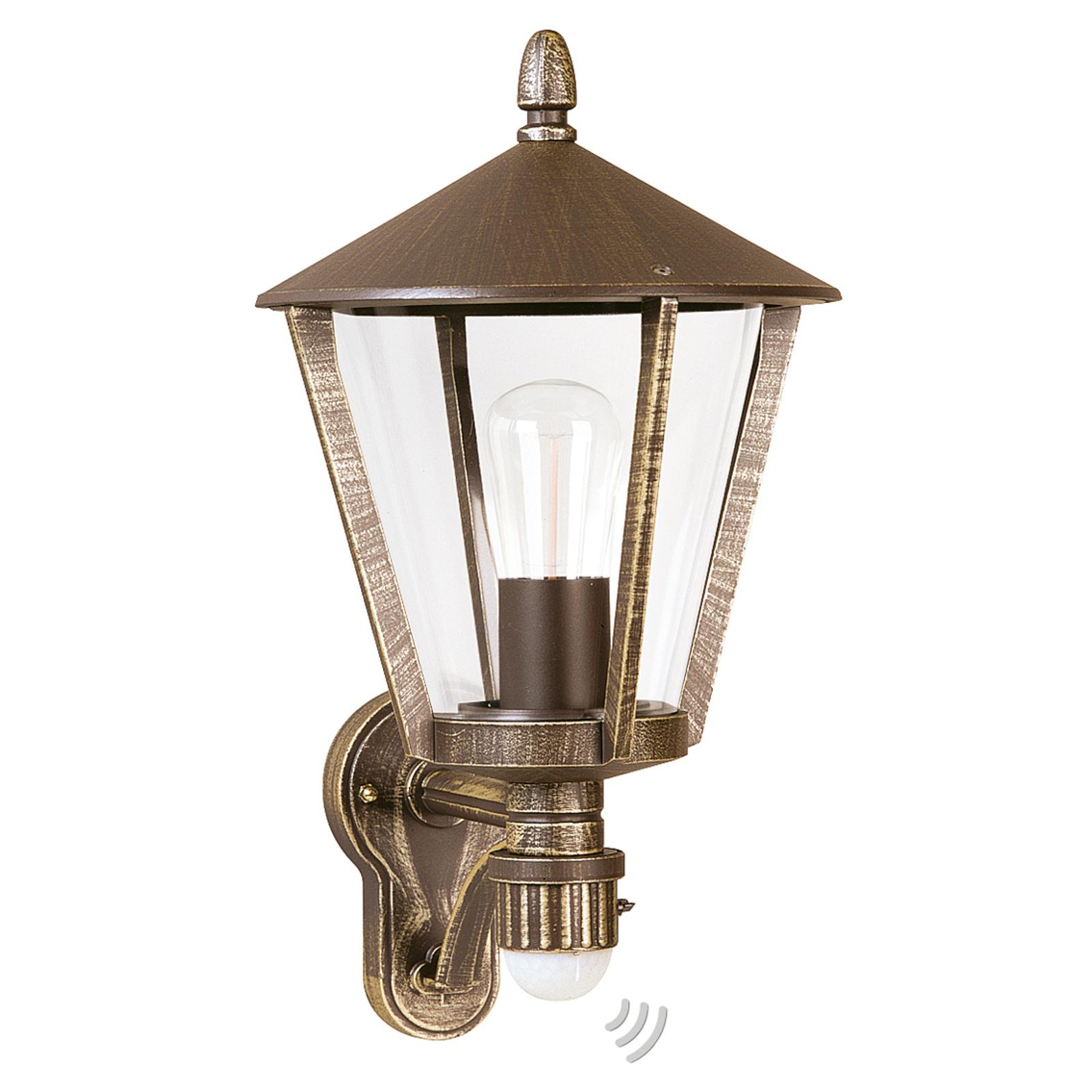 Buitenwandlamp 671 B met bewegingssensor