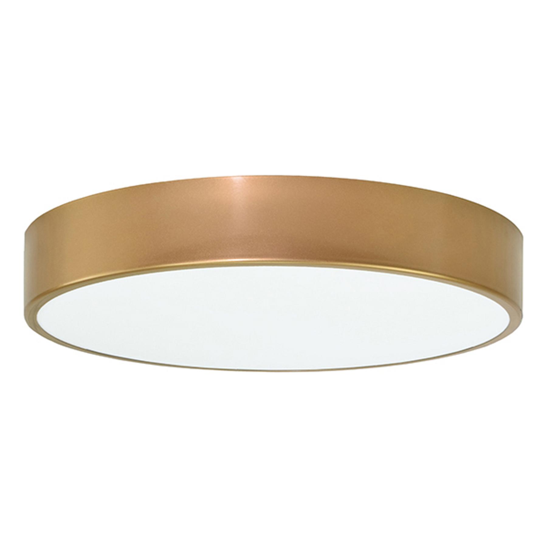 Deckenleuchte Cleo, Ø 50 cm, gold