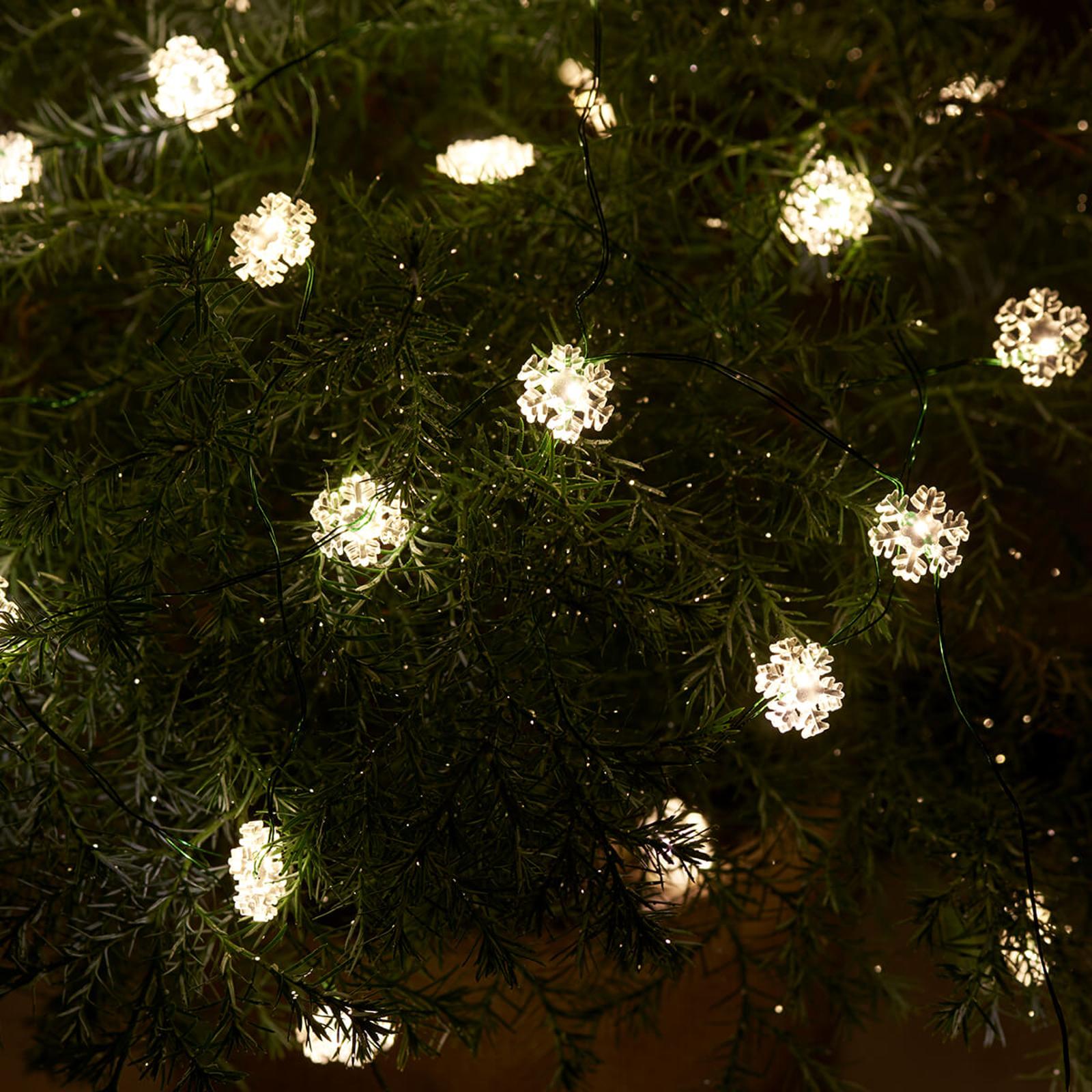LED-Lichterkette Nynne 40fl f. innen und außen