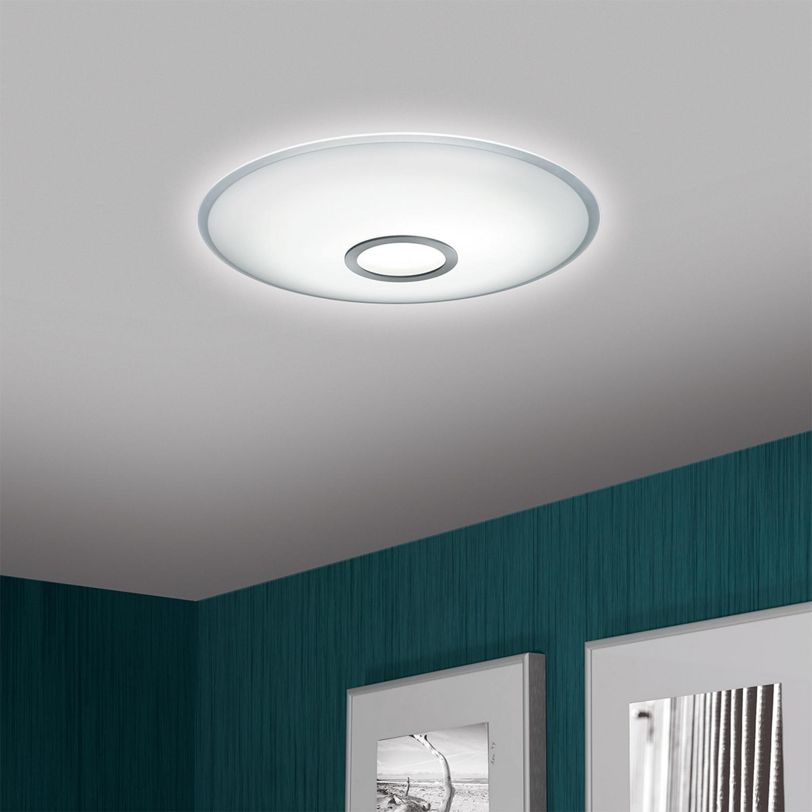 Produktové foto Helestra Helestra Nuno – stropní LED svítidlo, matný nikl