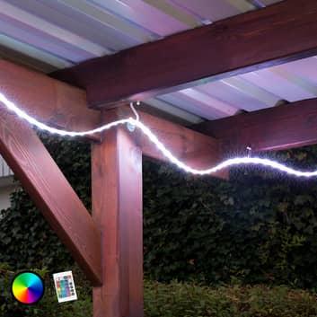 RGB-LED-list Ora för utsidan med fjärrkontroll 500