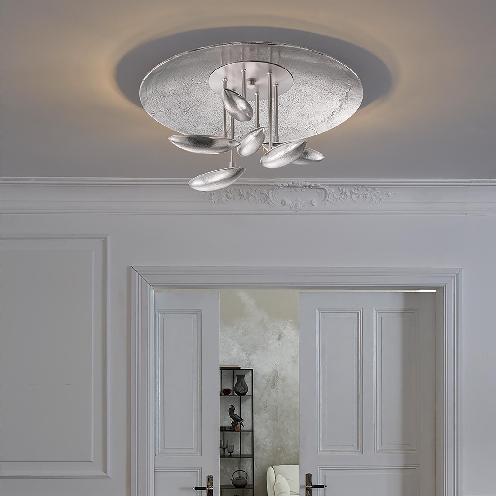 In lichtkleur verst. LED plafondlamp Forla Ø 50