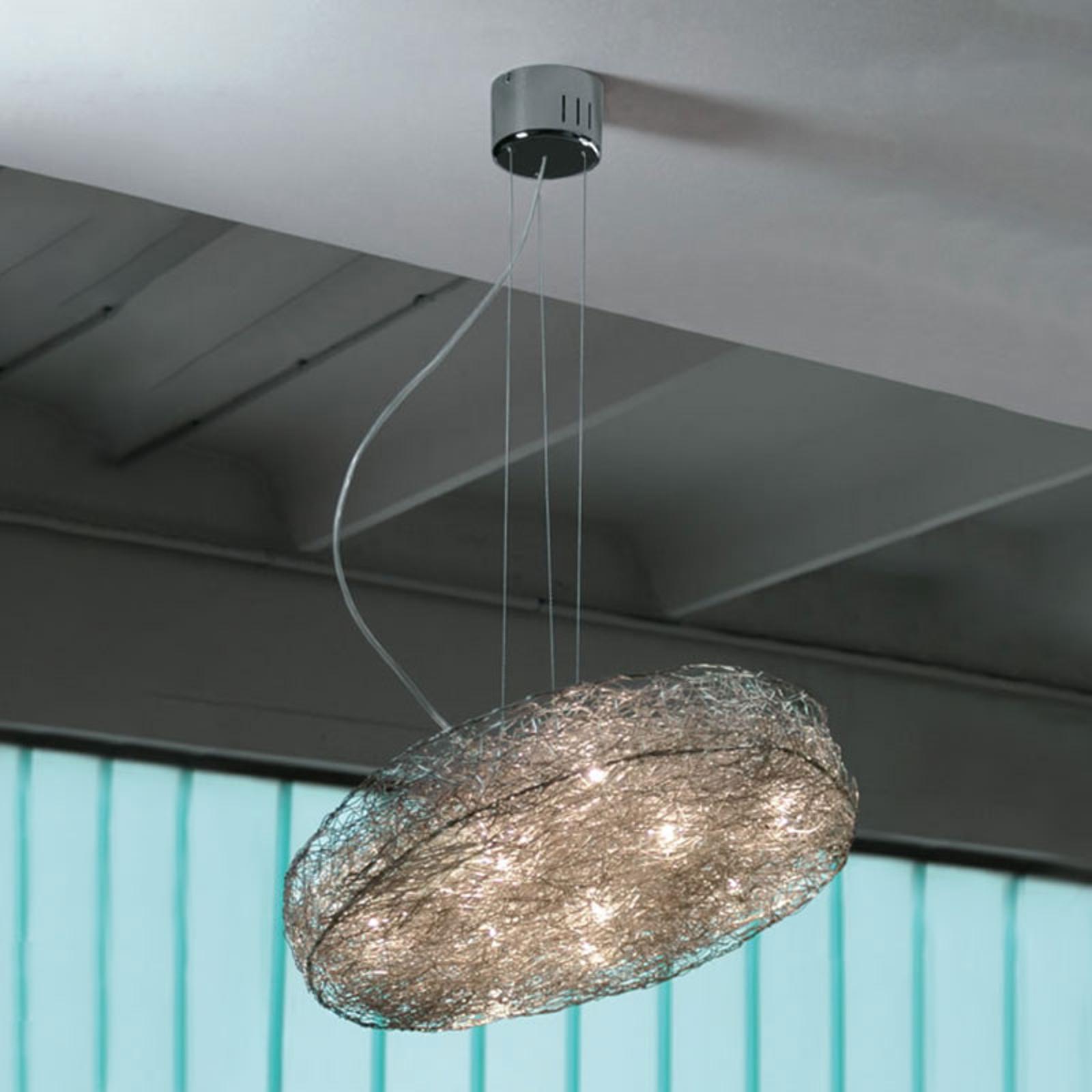 Designerska lampa wisząca LED Rotola