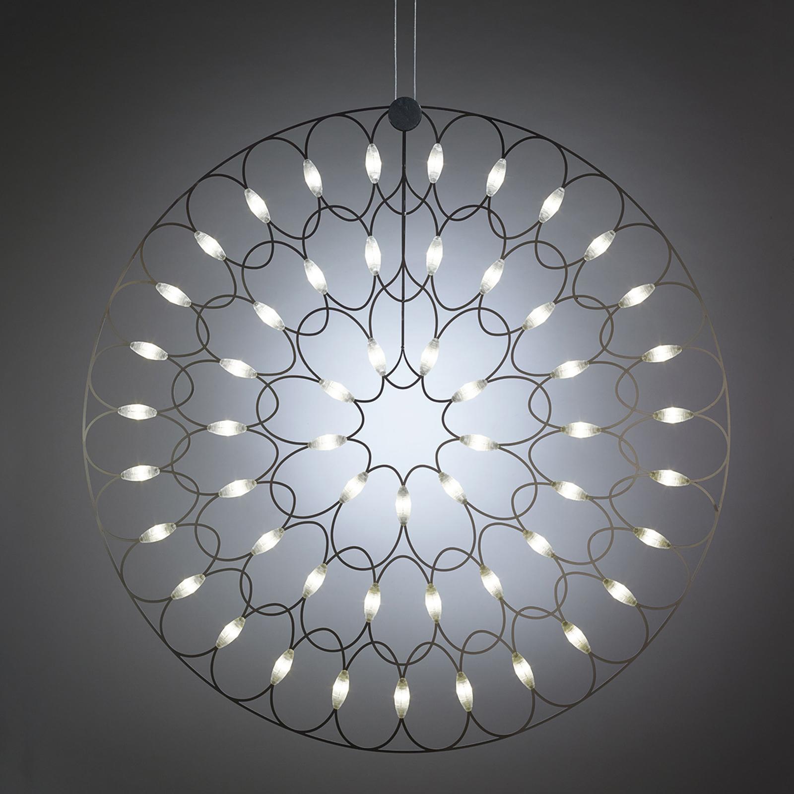Lafra - een LED hanglamp als een mandala