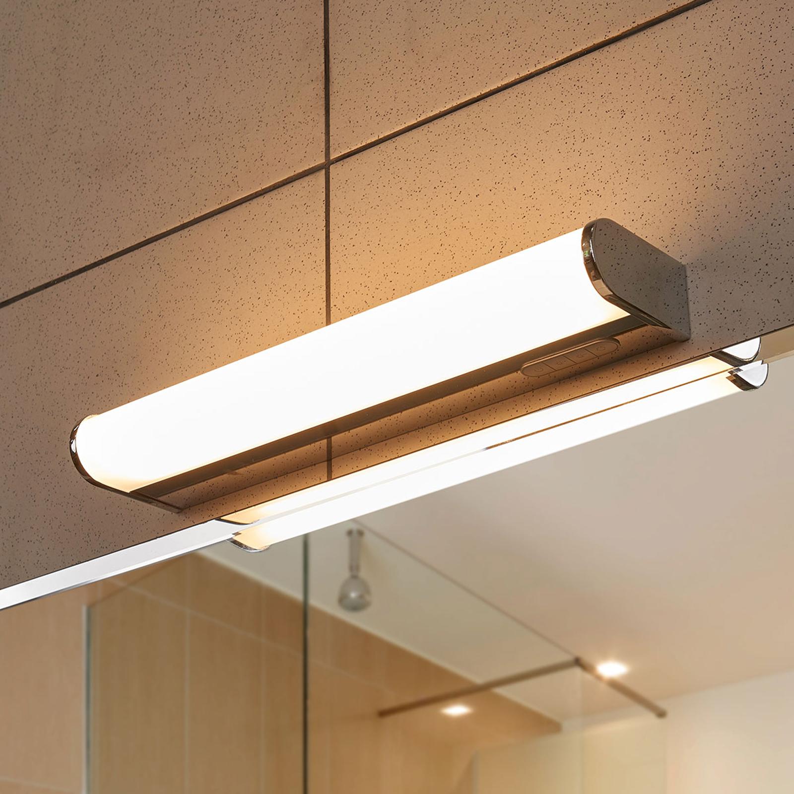 LED koupelnové světlo nástěnné Jesko, 33 cm