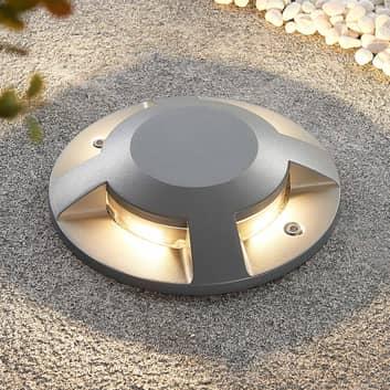 Lucande Jeffrey Lampe de sol LED à 4 lampes
