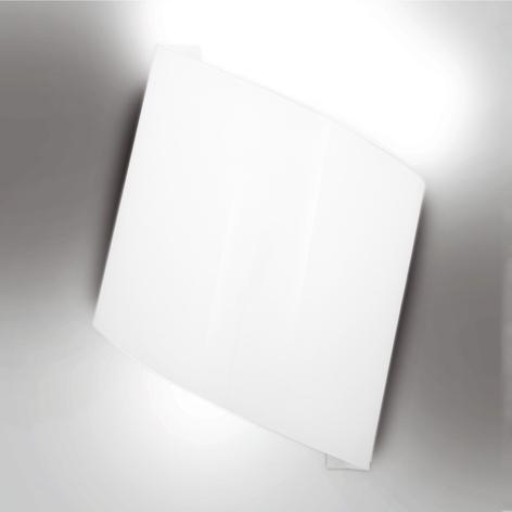 Bílé nástěnné světlo Flag