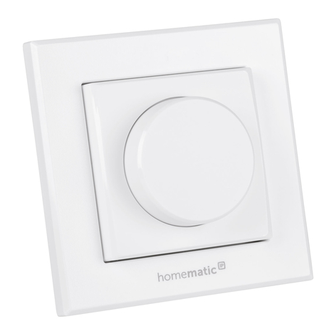 HomeMatic IP draaiknop