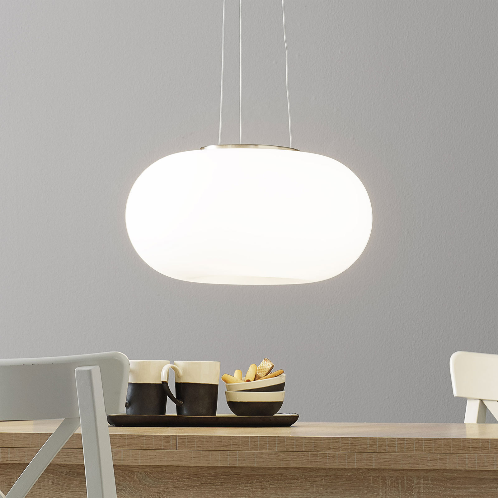 Nowoczesna lampa wisząca Optica 45 cm