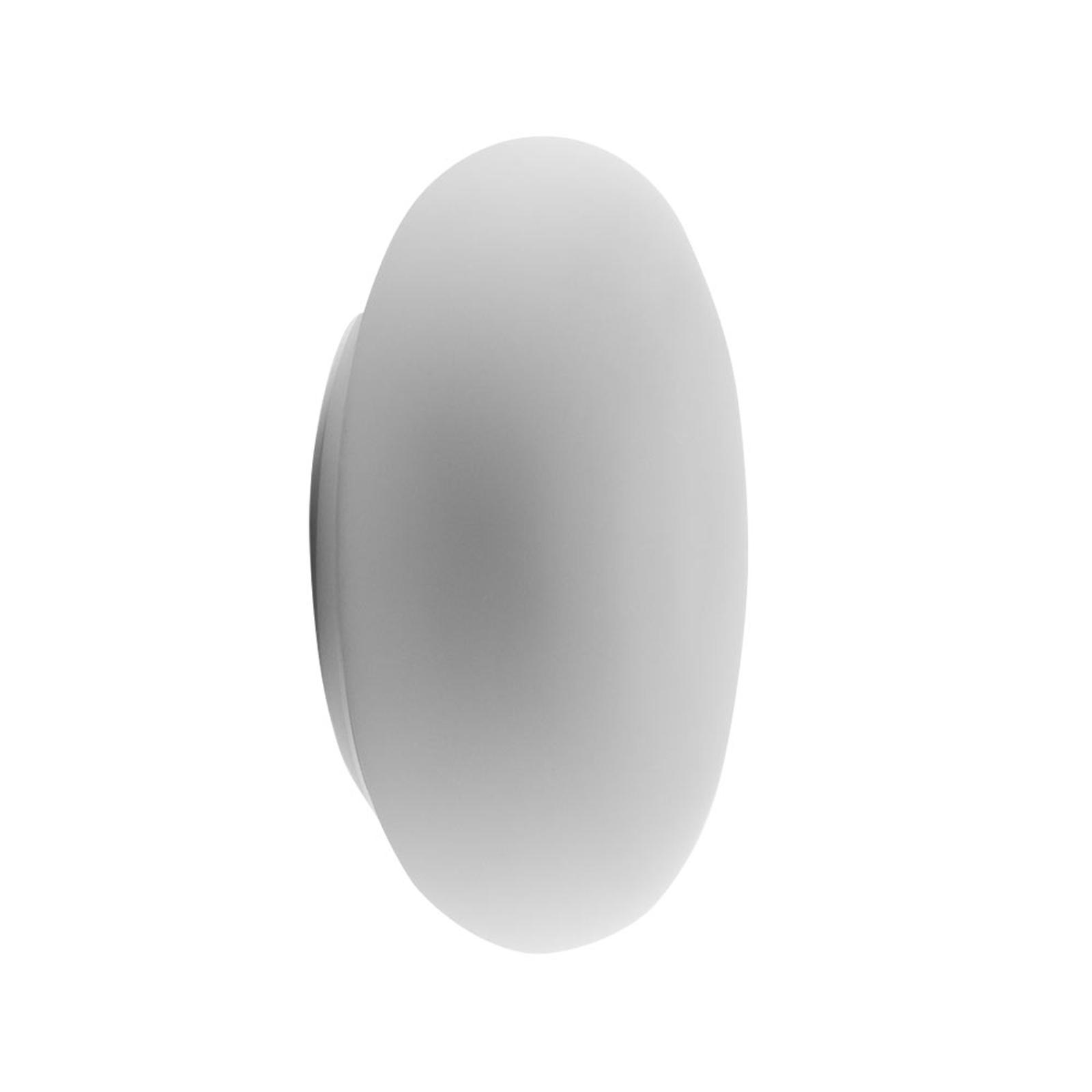 Artemide Itka glas-væglampe IP65, Ø 20 cm
