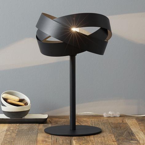 Stolní lampa Tornado černá