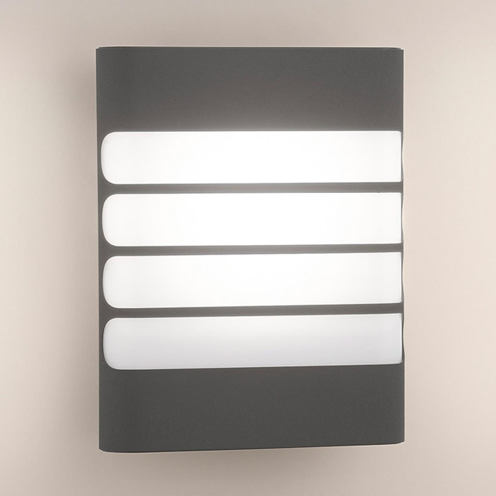 Antrasittfarget LED-utevegglys Racconn