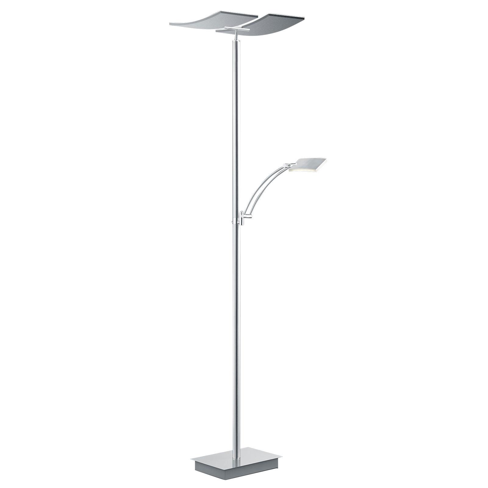 B-Leuchten Duo LED vloerlamp met afstandsbediening