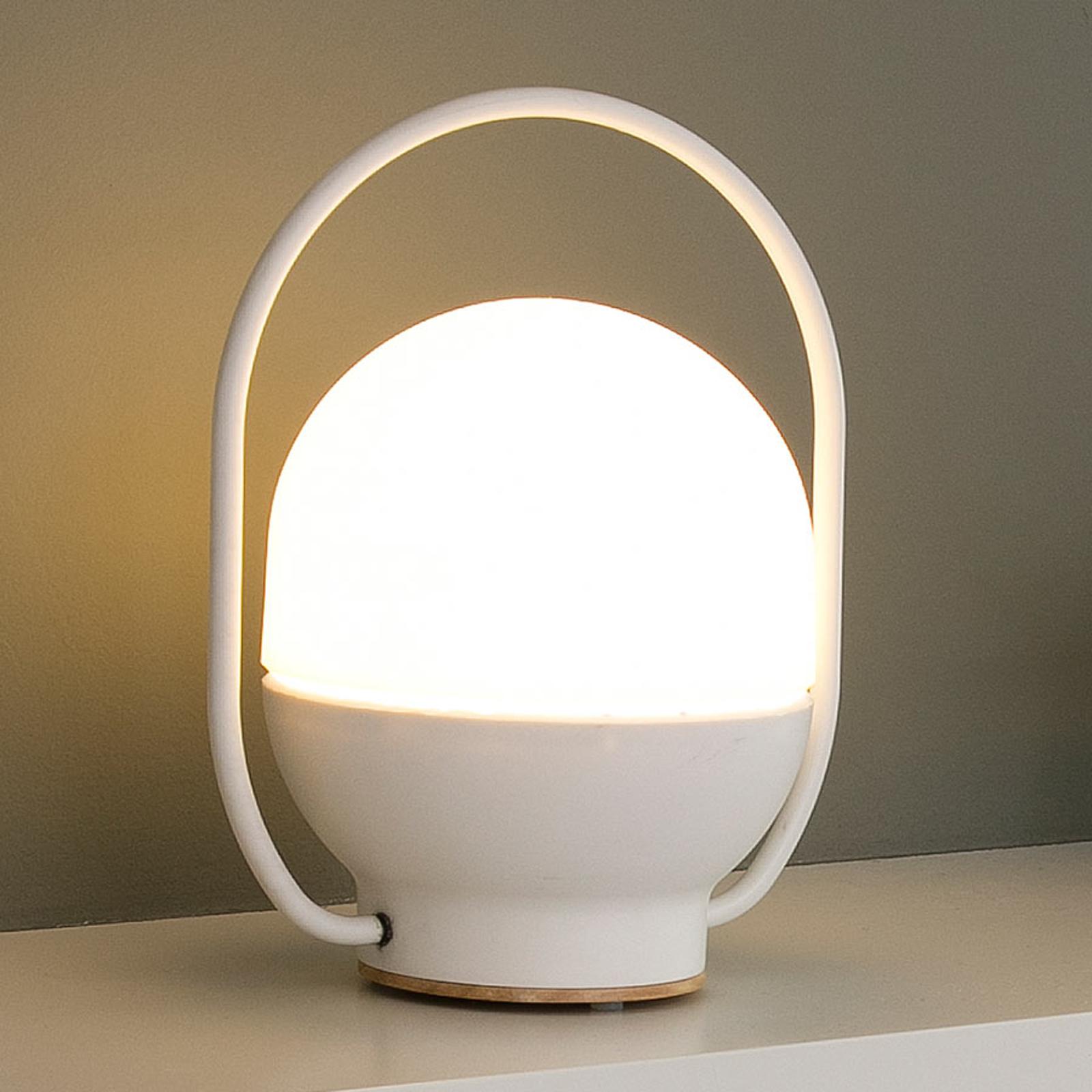 Bærbar LED-bordlampe Take away med USB